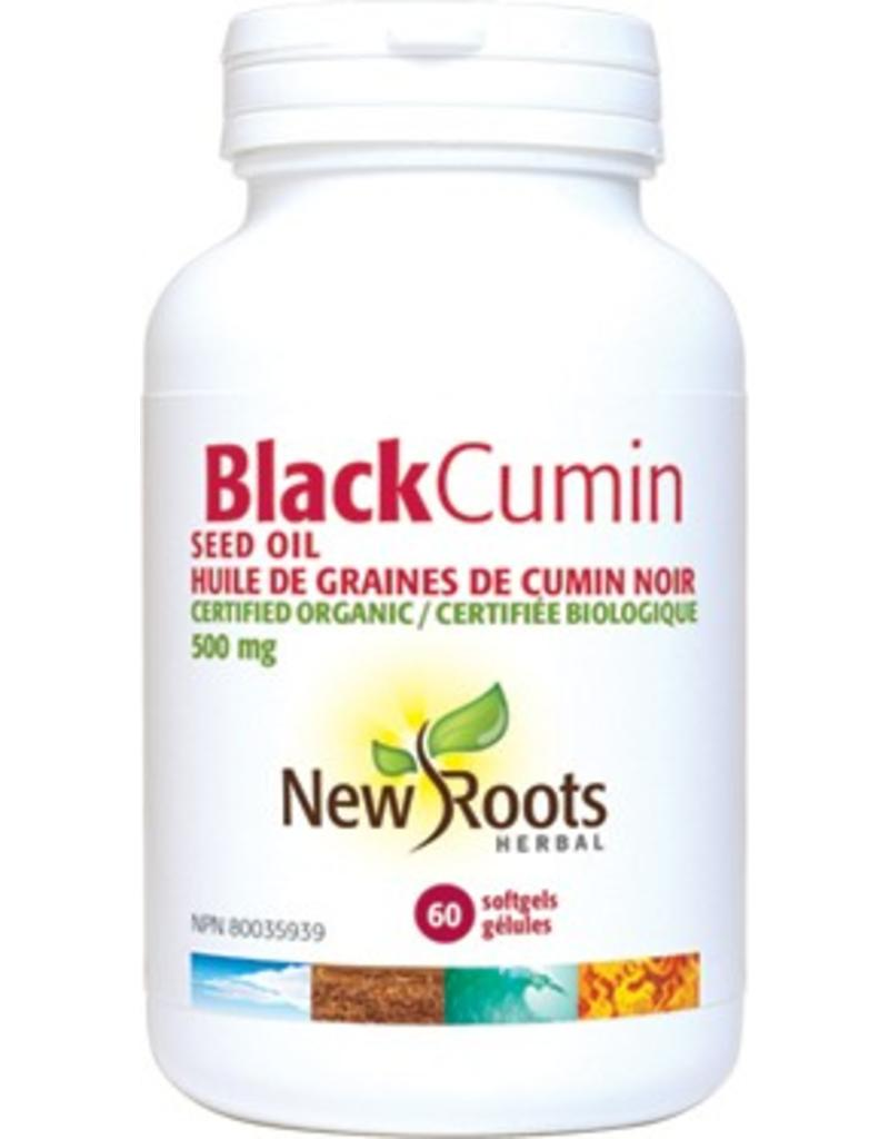 New Roots New Roots Black Cumin Seed Oil 500mg 60 softgels