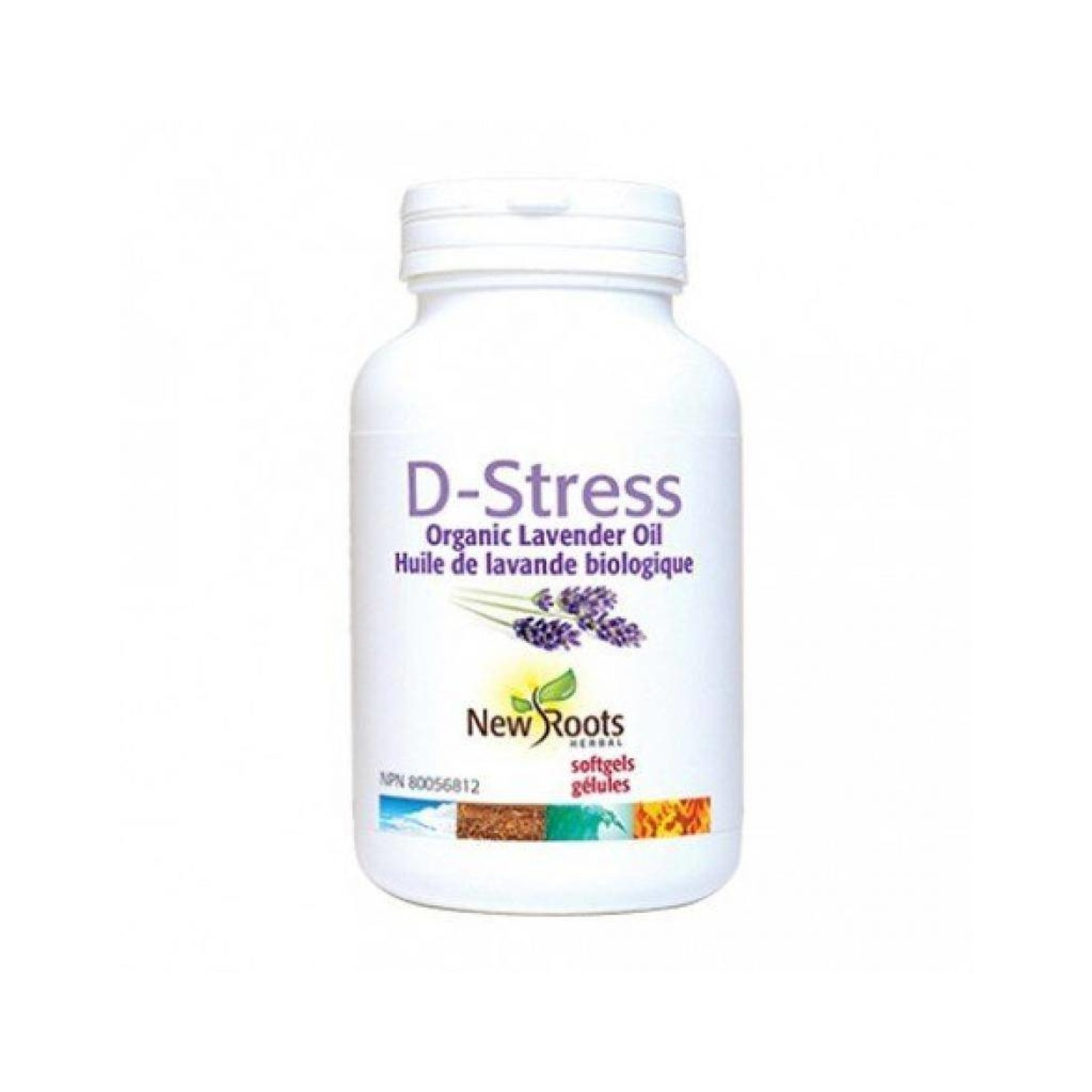 New Roots New Roots D-Stress Organic Lavender Oil 30 softgels