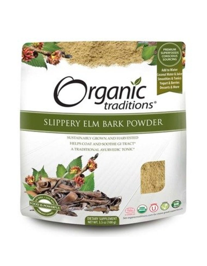 Organic Traditions Slippery Elm Bark Powder 200g