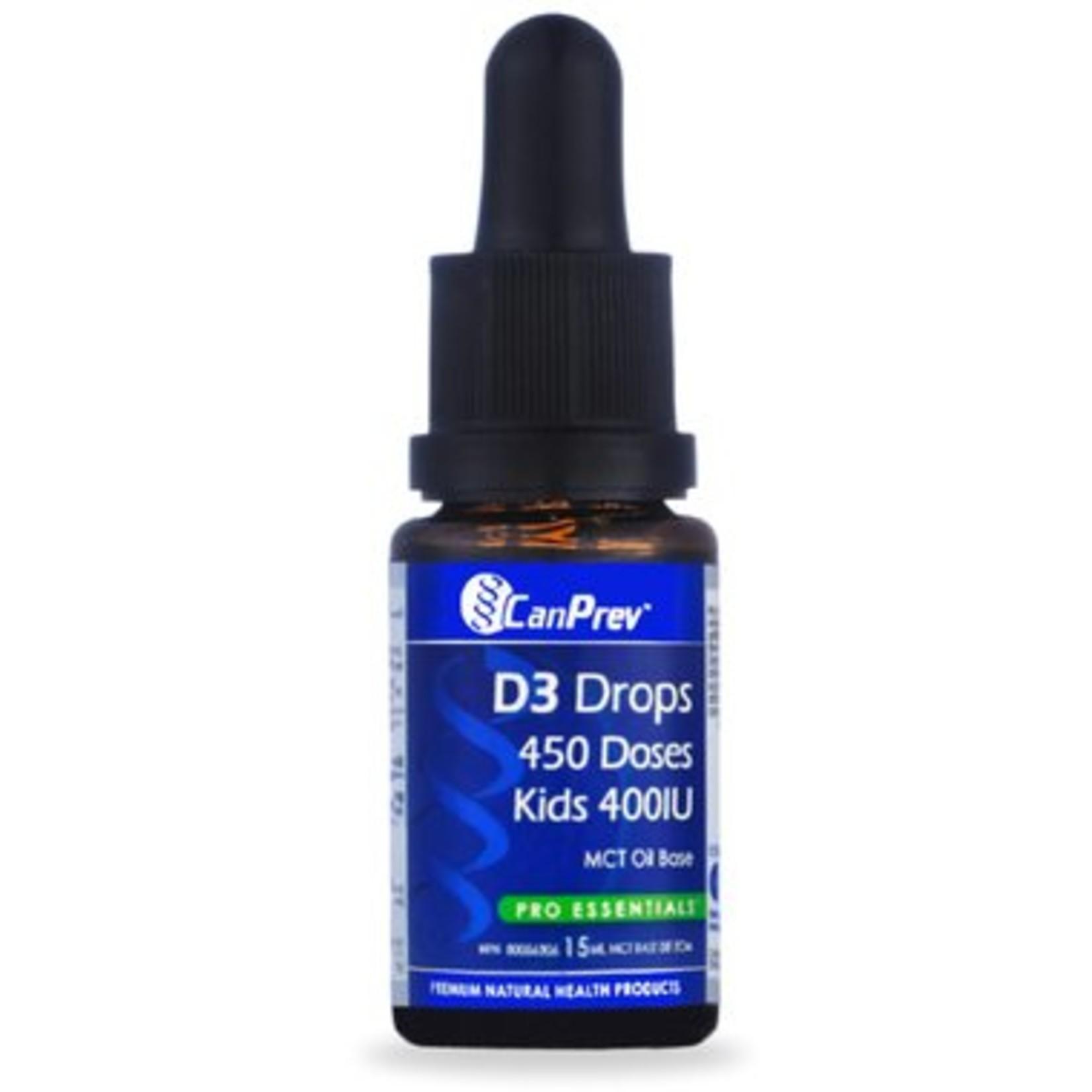 Can Prev Can Prev Kids D3 Drops 400iu 450 Drops