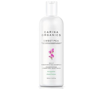 Carina Organics Sweet Pea Daily Moisturizing Shampoo 360ml
