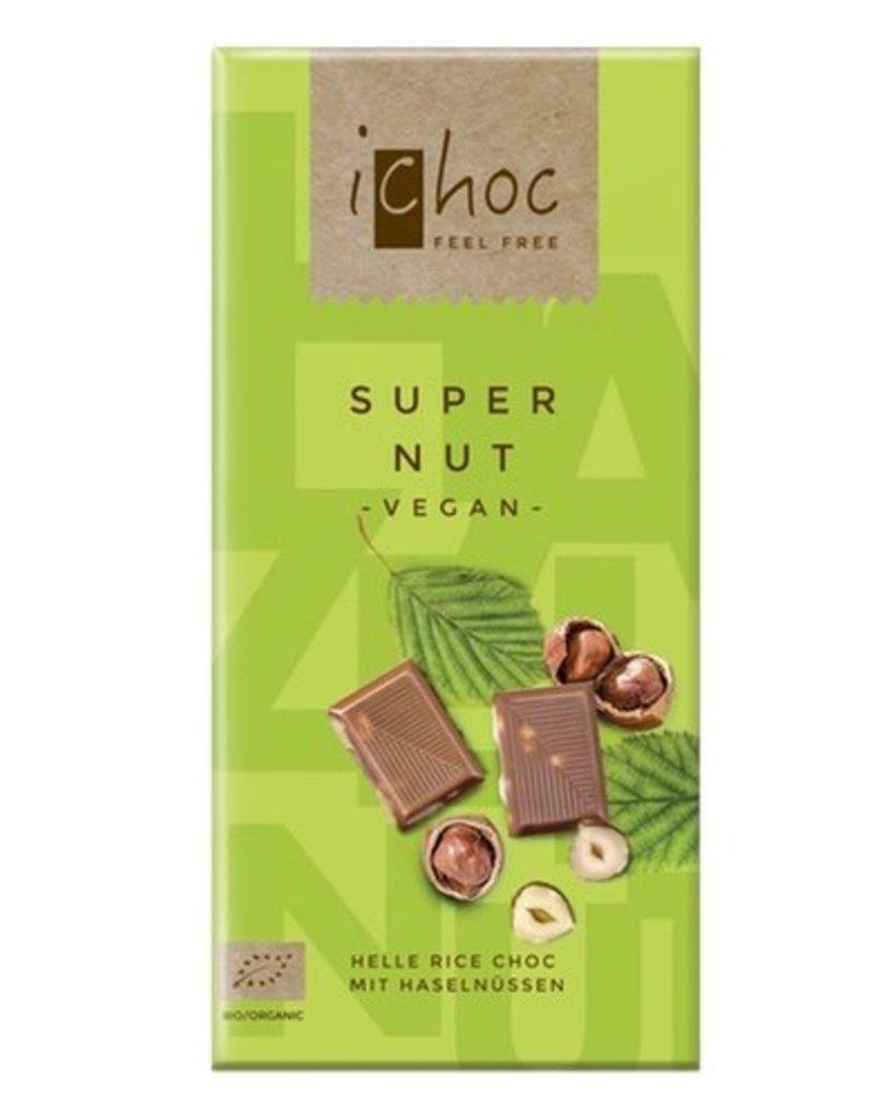 Ichoc Super Nut Vegan Chocolate 80g