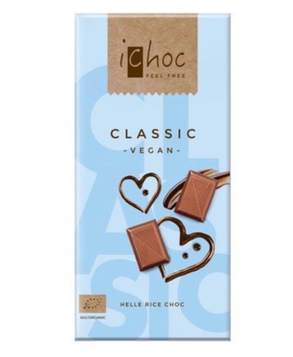 Ichoc Classic Vegan Chocolate 80g
