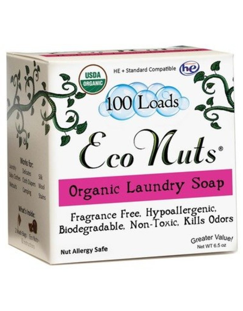 Eco Nuts Organic Laundry Detergent- 100 loads