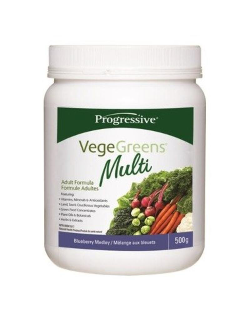 Progressive Vege Greens Multi Blueberry 500g
