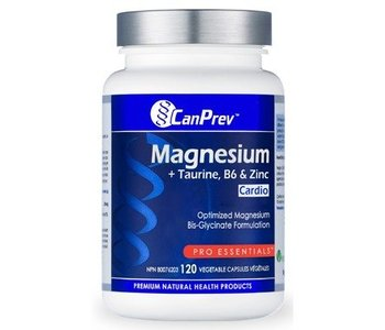 Can Prev Magnesium Cardio with Taurine B6 and Zinc 120caps