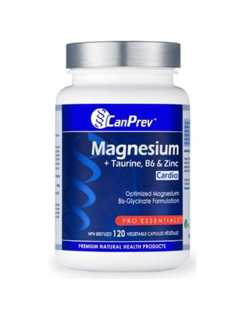 Can Prev Can Prev Magnesium Cardio with Taurine B6 and Zinc 120caps