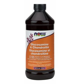 NOW NOW Glucosamine Choindroitin & MSM Liquid 473ml