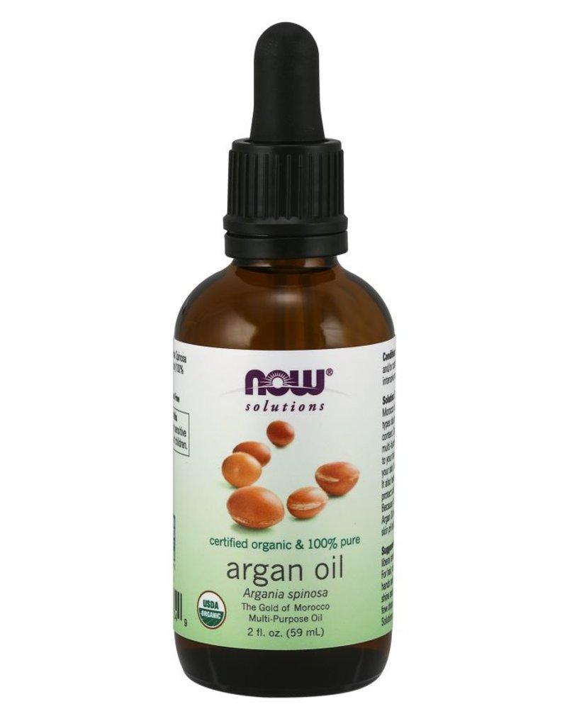 NOW NOW Argan Oil 100& Pure Organic 60ml