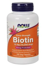 NOW NOW Biotin Max Strength 10,000mcg 120caps
