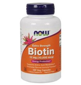 NOW NOW Biotin Max Strength 10,000mcg 120caps