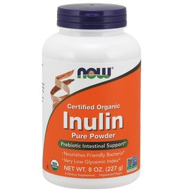NOW NOW Organic Inulin Powder 227g