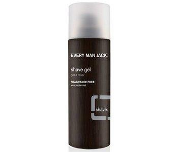 Every Man Jack Shave Gel Fragrance Free 198g