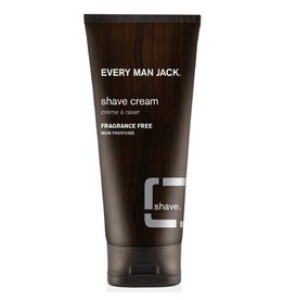 Every Man Jack Every Man Jack Shave Cream Fragrance Free 200ml