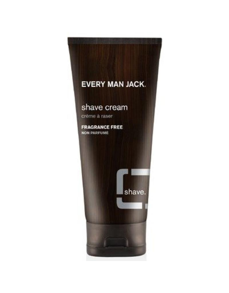 Every Man Jack Shave Cream Fragrance Free 200ml