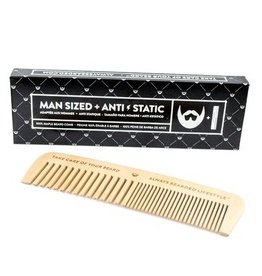 Always Bearded Lifestyle BEARDED-ANTI-STATIC MAPLE BEARD COMB