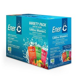 Ener-C Ener-C Vitamin C 1000mg- Variety Pack 30 packets