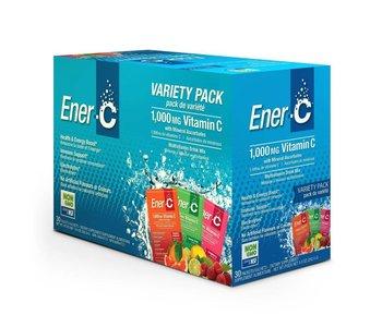 Ener-C Vitamin C 1000mg- Variety Pack 30 packets