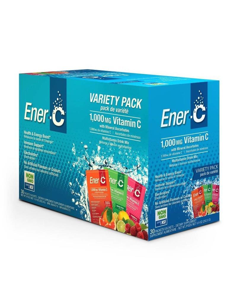 Ener-C Ener-C Vitamin C 1000mg- Variety Pack 30 packets