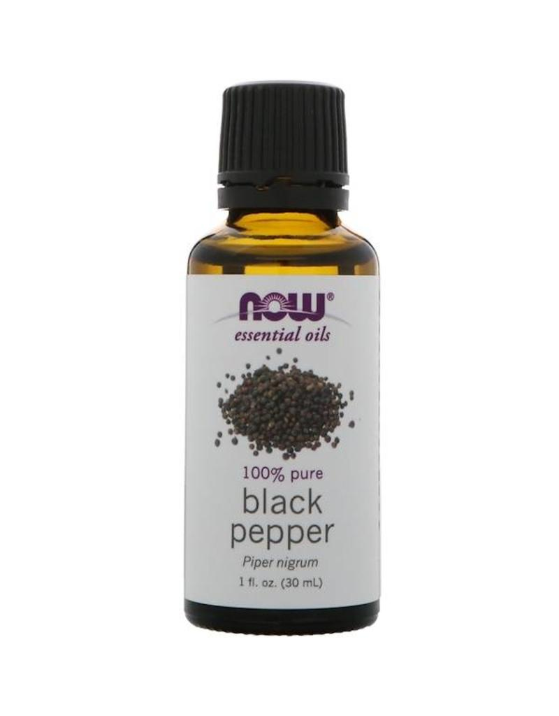 NOW Black Pepper Essential Oil 30ml