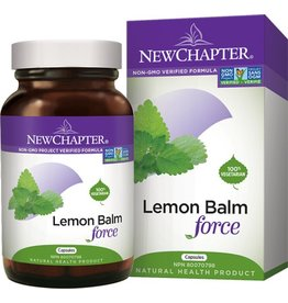 New Chapter New Chapter Lemon balm 300mg 30caps