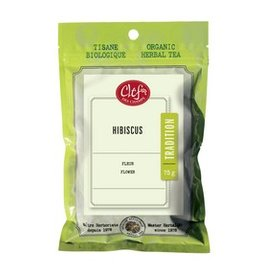 Clef des Champs Hibiscus Organic Loose Leaf 75g