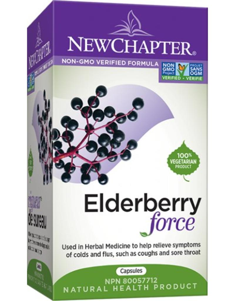 New Chapter Elderberry force 30 caps