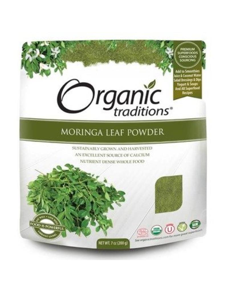 Organic Traditions Moringa Leaf Powder 200g