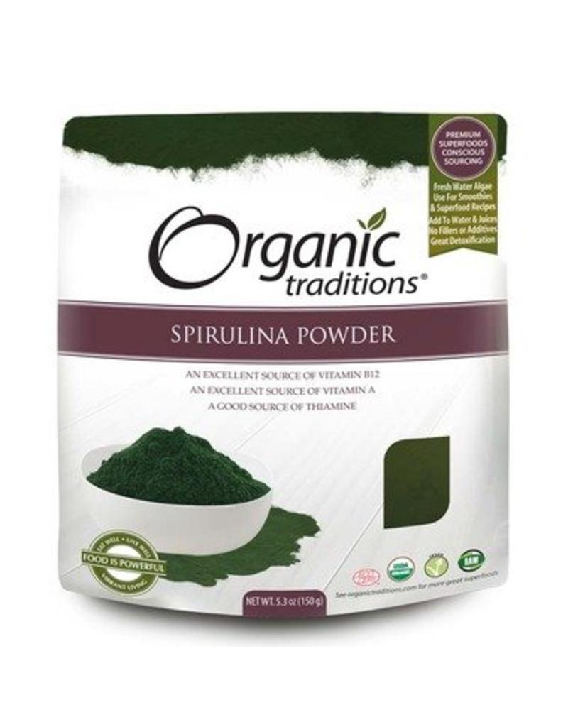 Organic Traditions Spirulina Powder 150g