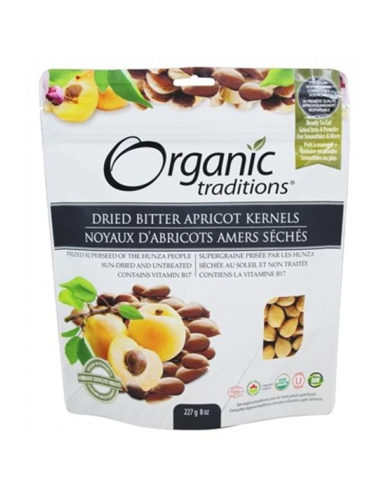 Organic Traditions Bitter Apricot Kernels 227g