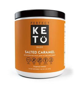 Perfect Keto Keto Base Exogenous Ketones Salted Caramel 227g