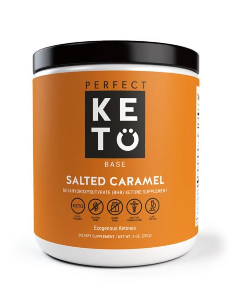 Perfect Keto Keto Base Exogenous Ketones Salted Caramel 227g