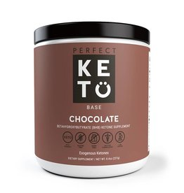 Perfect Keto Keto Base Exogenous Ketones Chocolate 211g