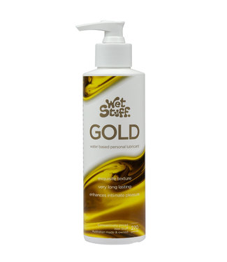 Wet Stuff Gold Water-based Personal Lubricant