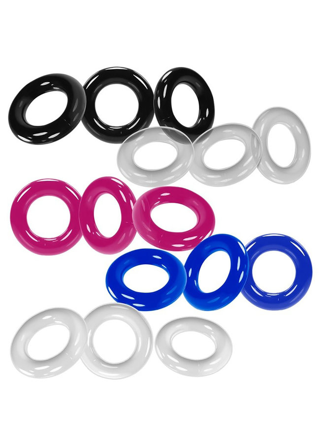 WILLY RINGS Cock Ring 3-Pack