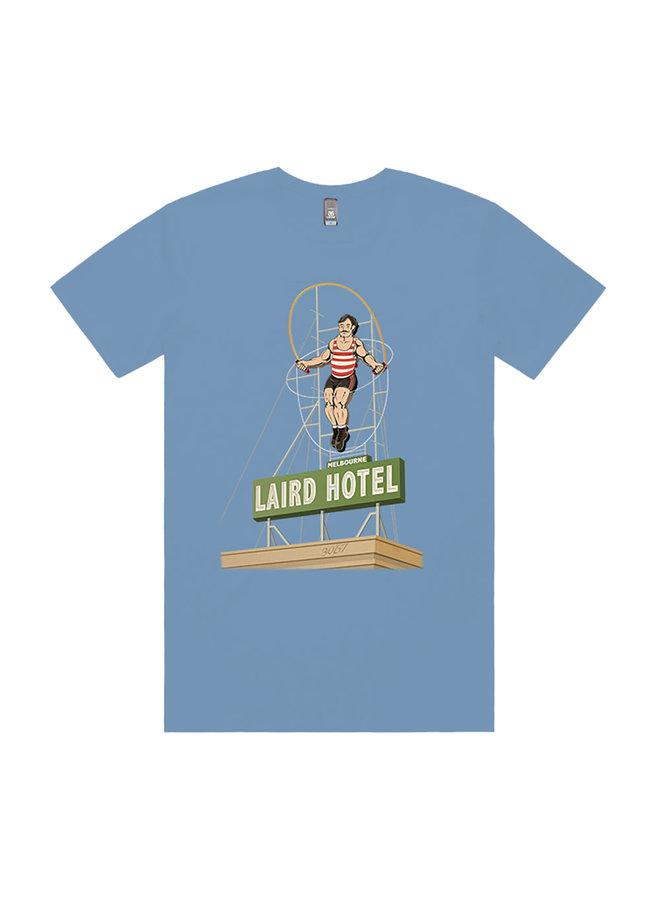Laird 40th Birthday Skipping Bear T-Shirt