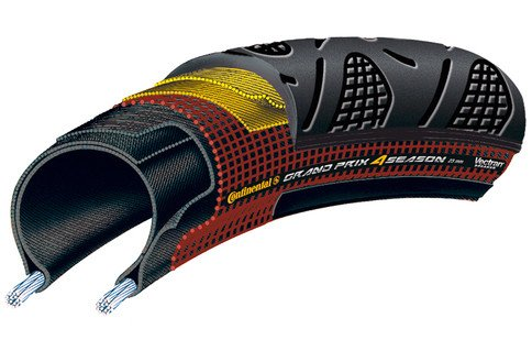 Gatorskin 700 X 28 Fold Black-Duraskin
