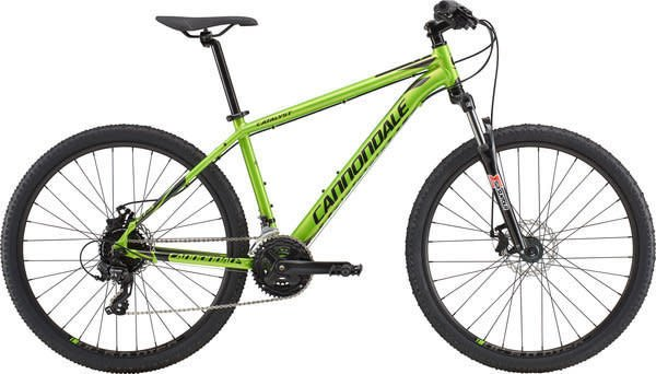 CANNONDALE CATALYST 4 ACID GREEN XSMALL