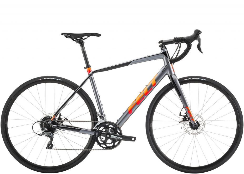 FELT VR60 CHARCOAL (BLACK, ORANGE FADE) 47cm