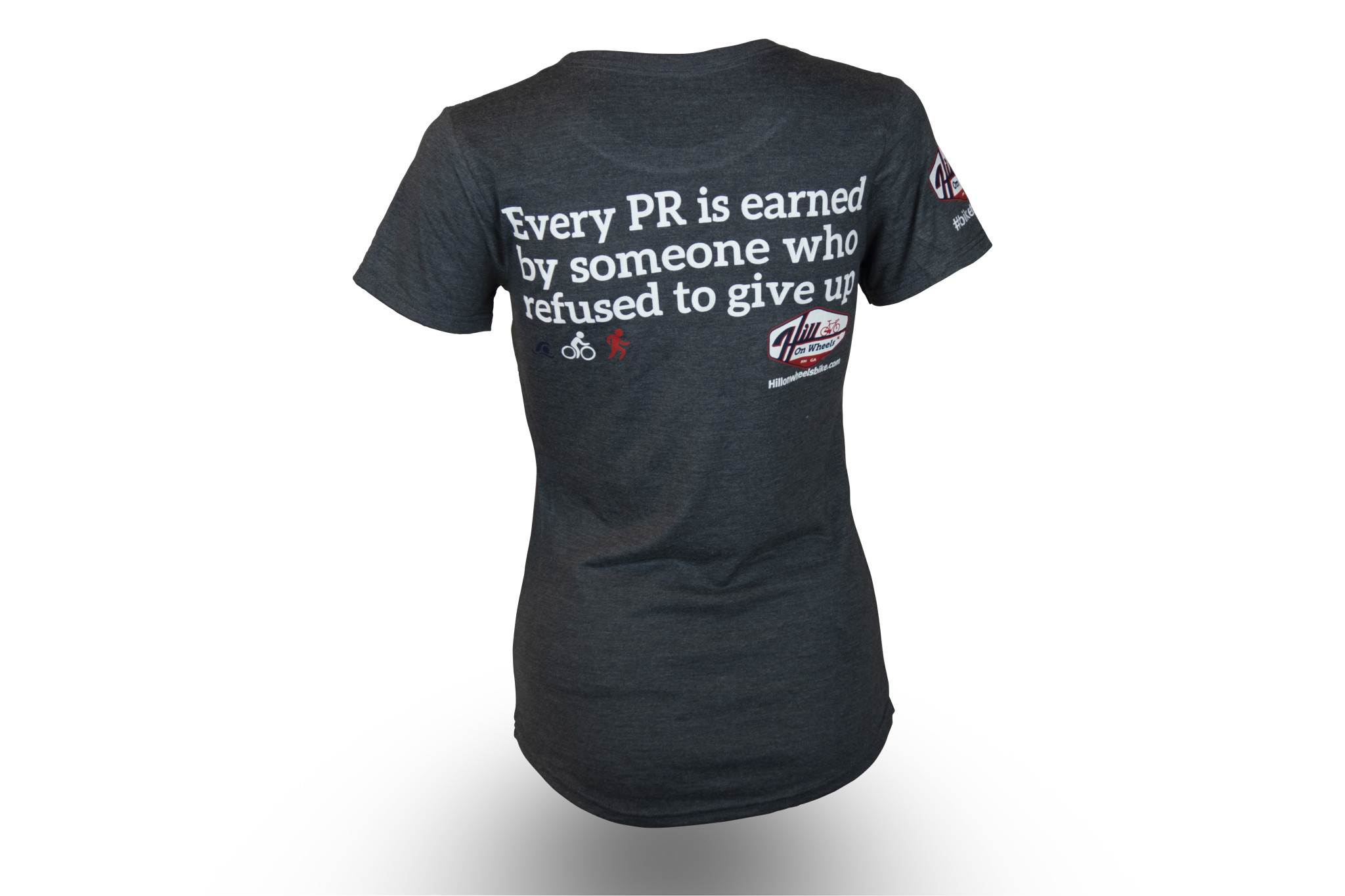 WOMENS T-SHIRT EVERY PR IS EARNED