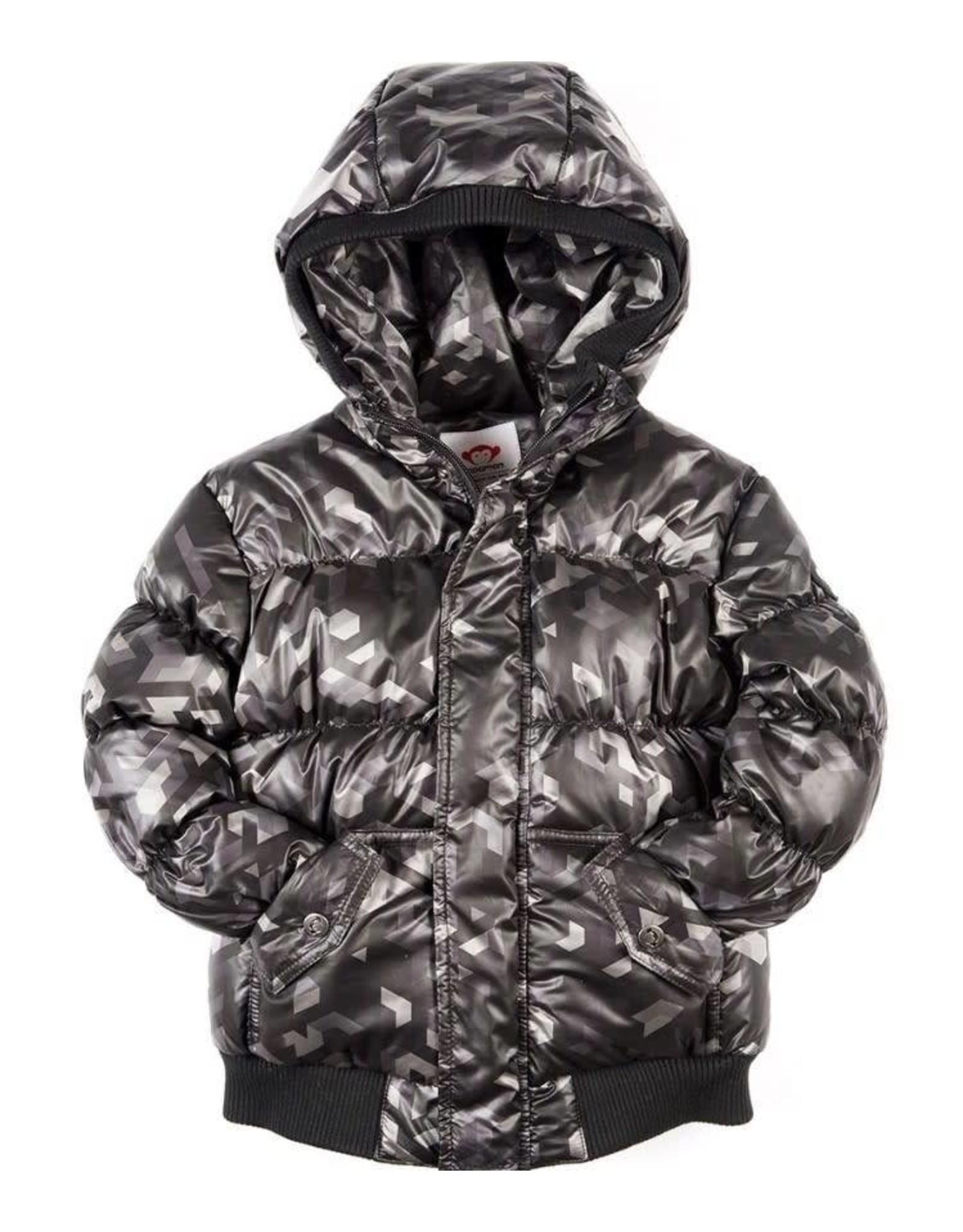 Appaman Appaman Black Geo short coat