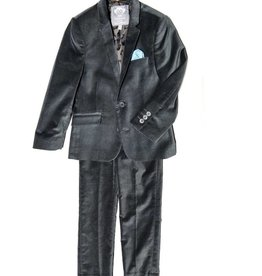 Appaman Appaman Grey velvet suit