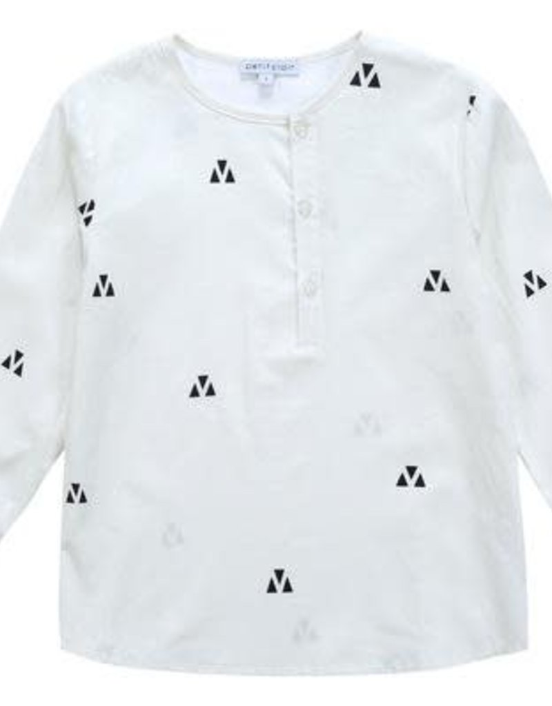 Petit clair Petit Clair Boys Mandarin Shirt P564