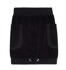 PC2 Girls velour black skirt