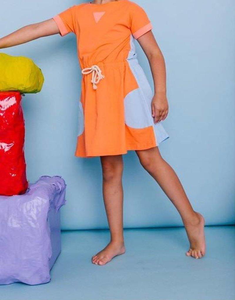 Crew colorblock dress