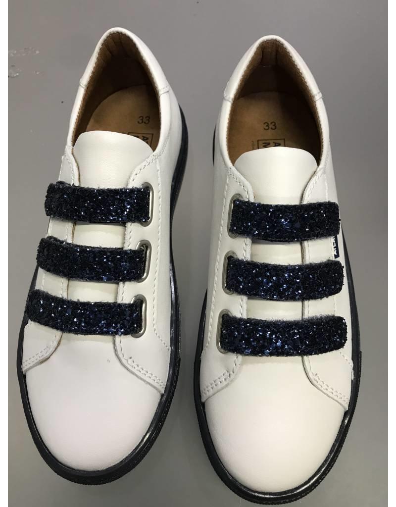 Atlanta Mocassin Atlanta Mocassin Glitter Velcro Sneaker