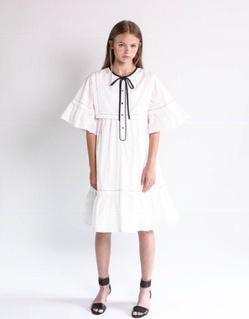 Aisabobo Aisabobo Iris white dress