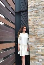 Picadilly Picadilly vanilla frost dress