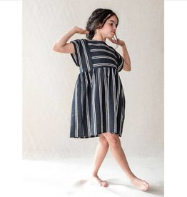 Belle Chiara Belle Chiara Black stripe dress