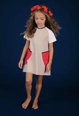 Boboketta Boboketta 1001 Colorblock dress